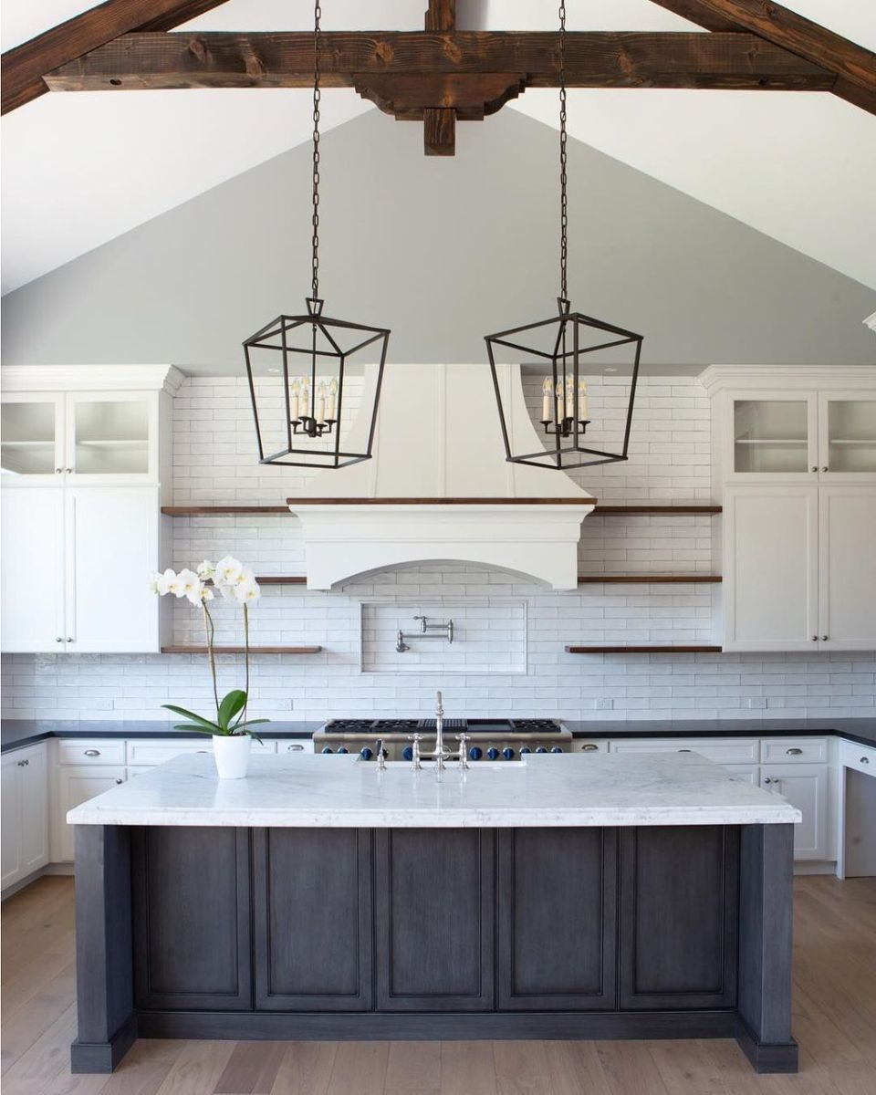 Great Ideas For Modern Farmhouse Kitchen Decorations 15