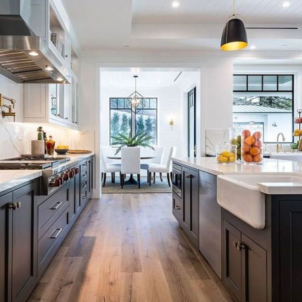 Great Ideas For Modern Farmhouse Kitchen Decorations 19