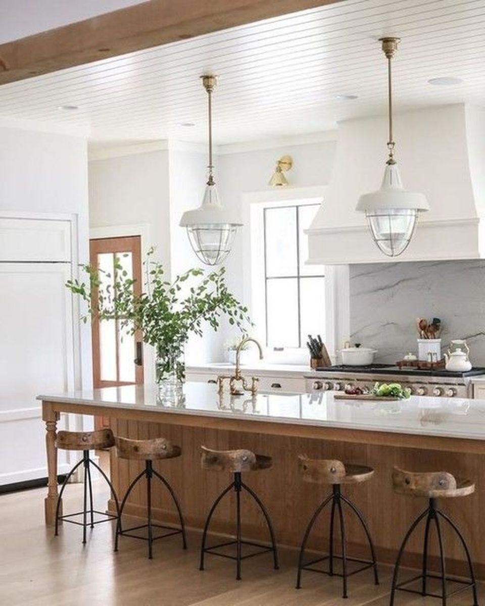 Great Ideas For Modern Farmhouse Kitchen Decorations 20