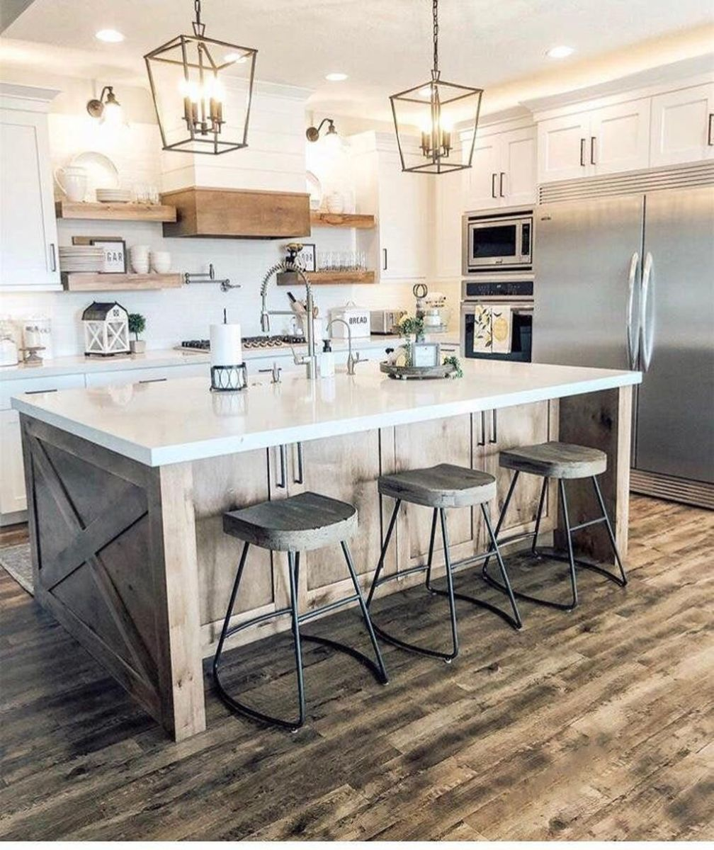 Great Ideas For Modern Farmhouse Kitchen Decorations 22