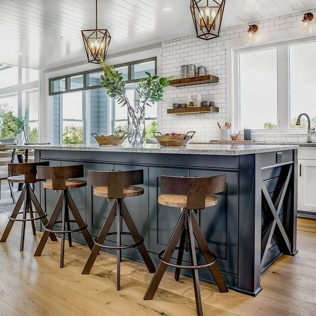 Great Ideas For Modern Farmhouse Kitchen Decorations 24