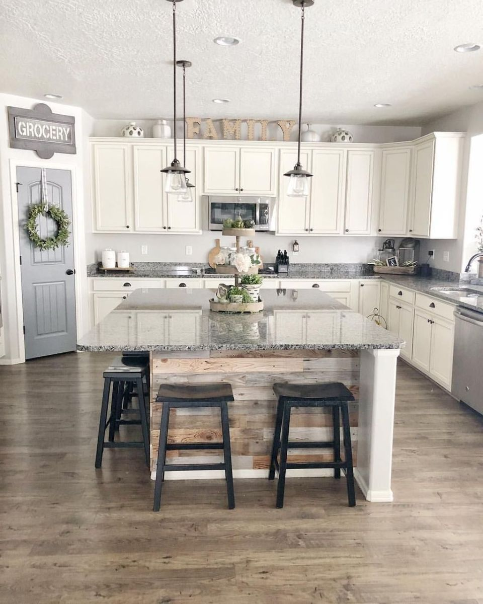 Great Ideas For Modern Farmhouse Kitchen Decorations 29