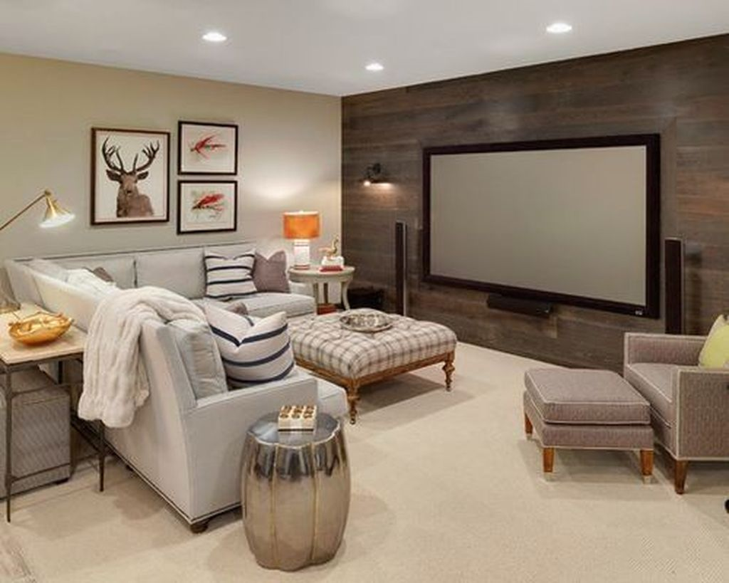 Stunning Basement Remodel Ideas Be A Beautiful Living Space 04