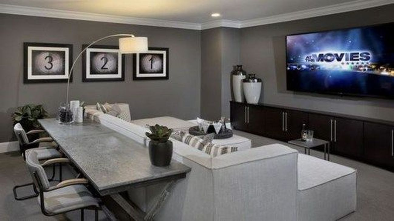 Stunning Basement Remodel Ideas Be A Beautiful Living Space 12