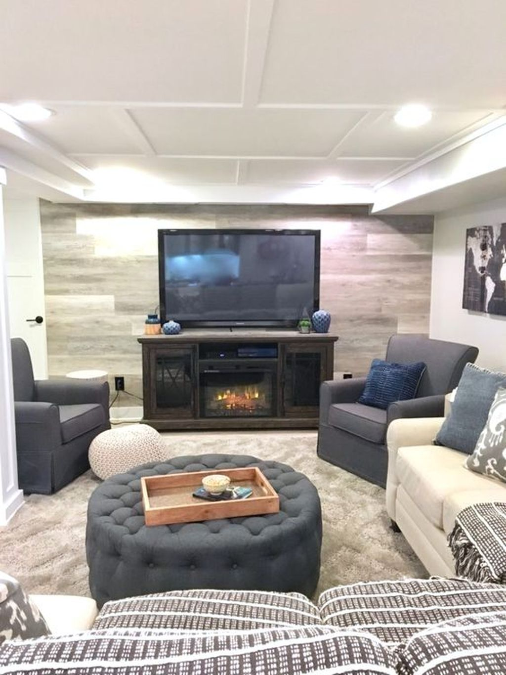 Stunning Basement Remodel Ideas Be A Beautiful Living Space 17