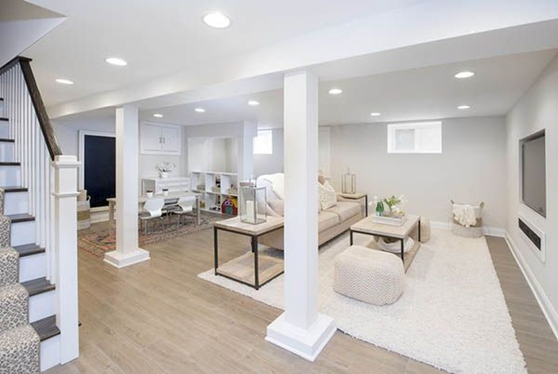 Stunning Basement Remodel Ideas Be A Beautiful Living Space 19
