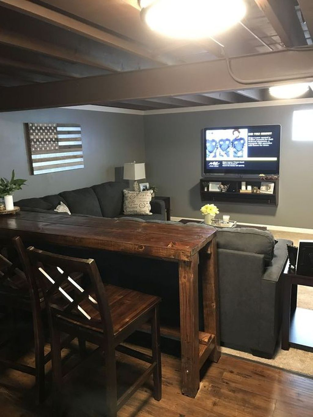 Stunning Basement Remodel Ideas Be A Beautiful Living Space 27