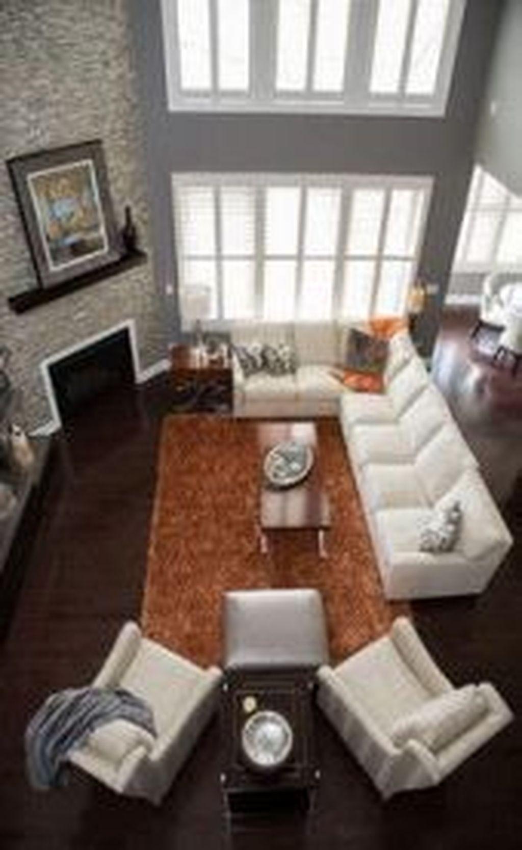 Stunning Corner Fireplace Design For Living Room 11