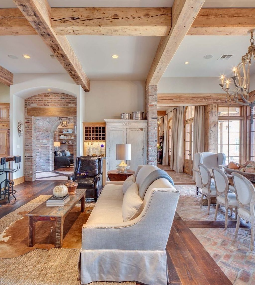 The Best Ideas To Decorate Interior Design With Farmhouse Style 01