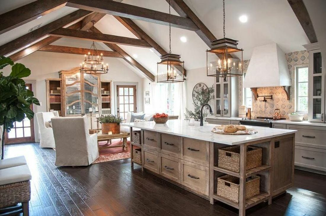 The Best Ideas To Decorate Interior Design With Farmhouse Style 04