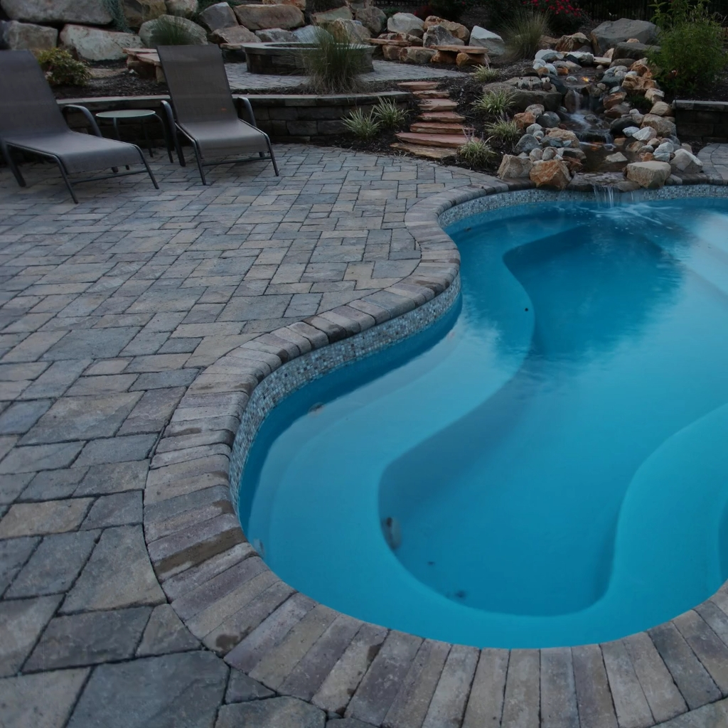 Totally Difference Pool Seating Ideas To Beautify Your Backyard 35