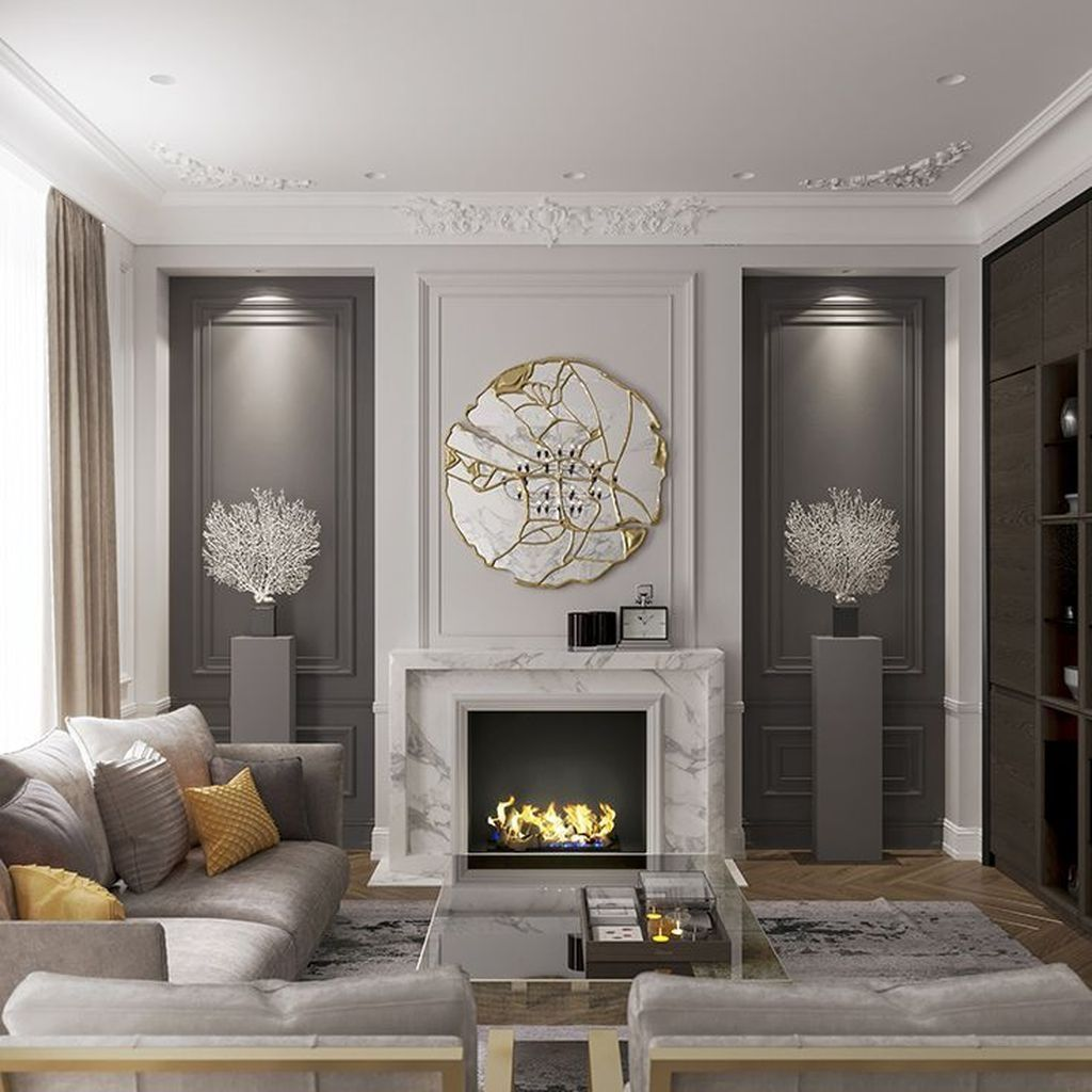 Amazing Contemporary Living Room Decoration Ideas 09
