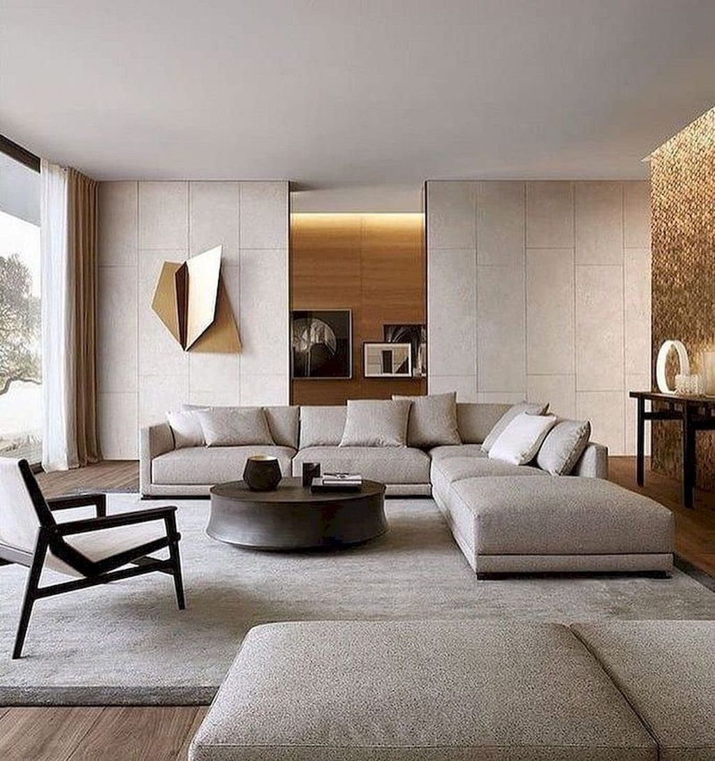 Amazing Contemporary Living Room Decoration Ideas 18
