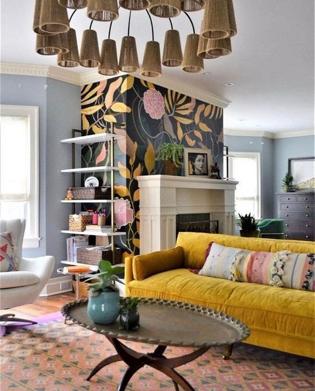 Fascinating Unique Living Room Ideas You Definitely Like 16