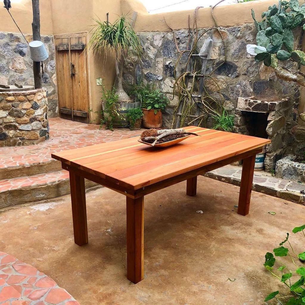 Inspiring Outdoor Dining Table Design Ideas 01