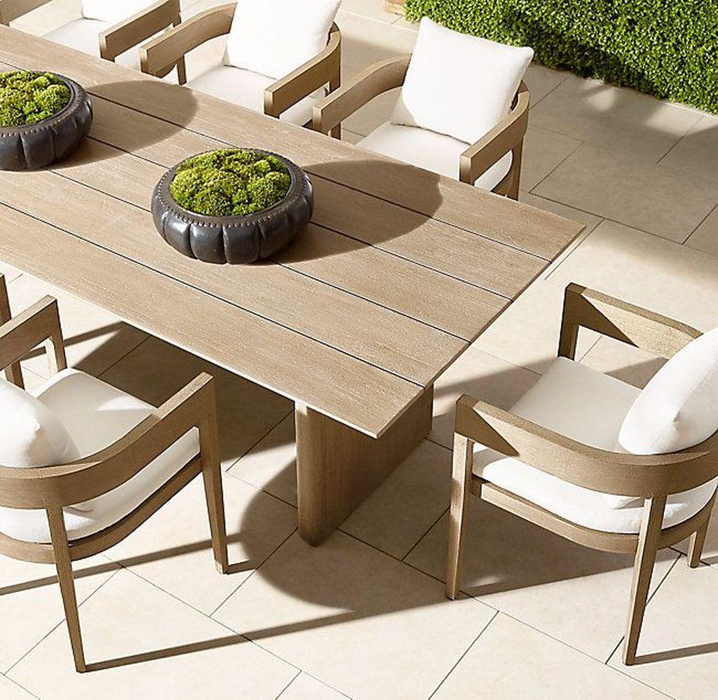 Inspiring Outdoor Dining Table Design Ideas 04