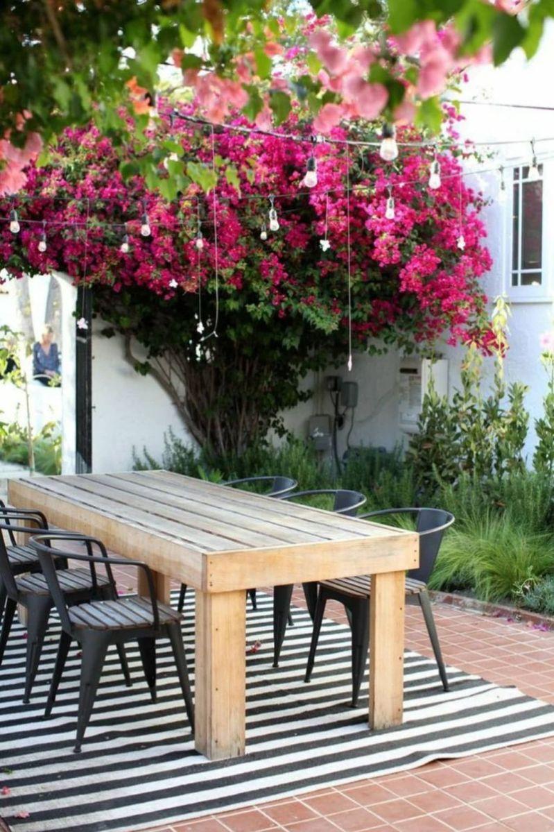 Inspiring Outdoor Dining Table Design Ideas 08