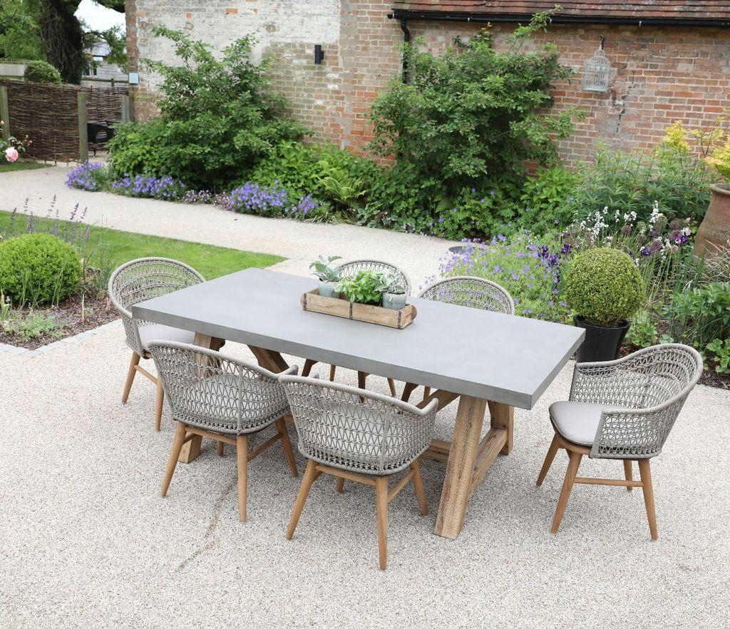 Inspiring Outdoor Dining Table Design Ideas 10