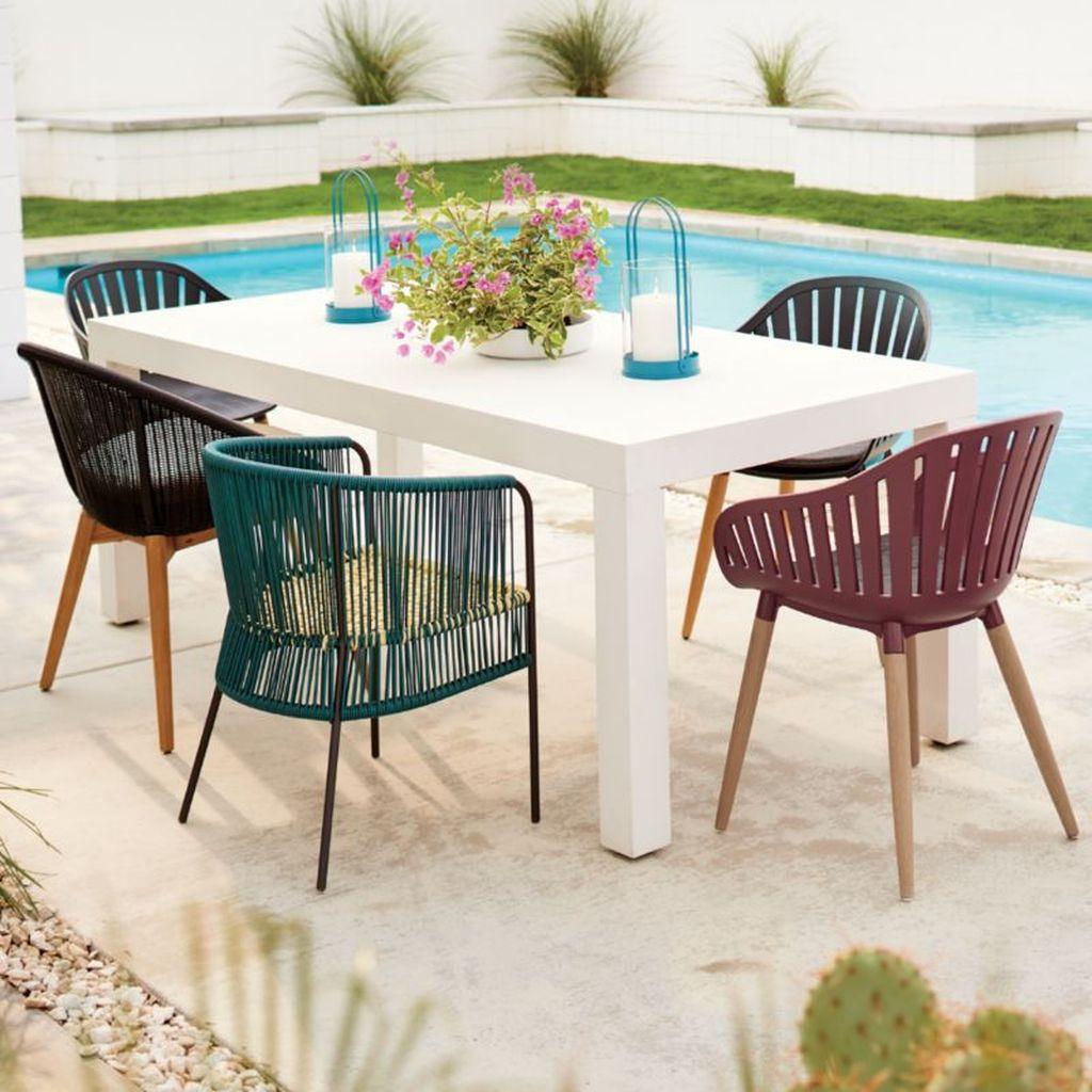 Inspiring Outdoor Dining Table Design Ideas 15