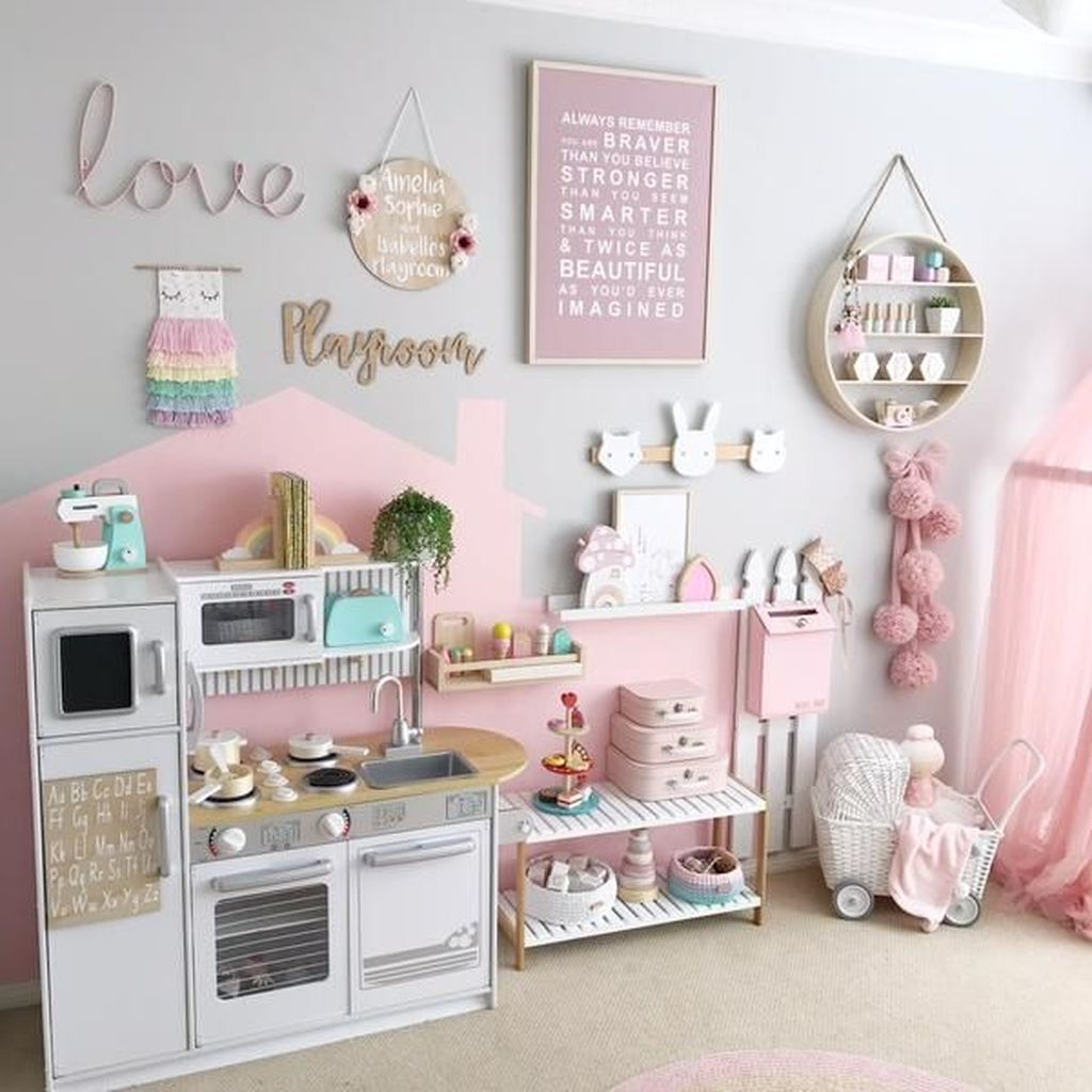 Nice Playroom Design Ideas For Your Kids 08