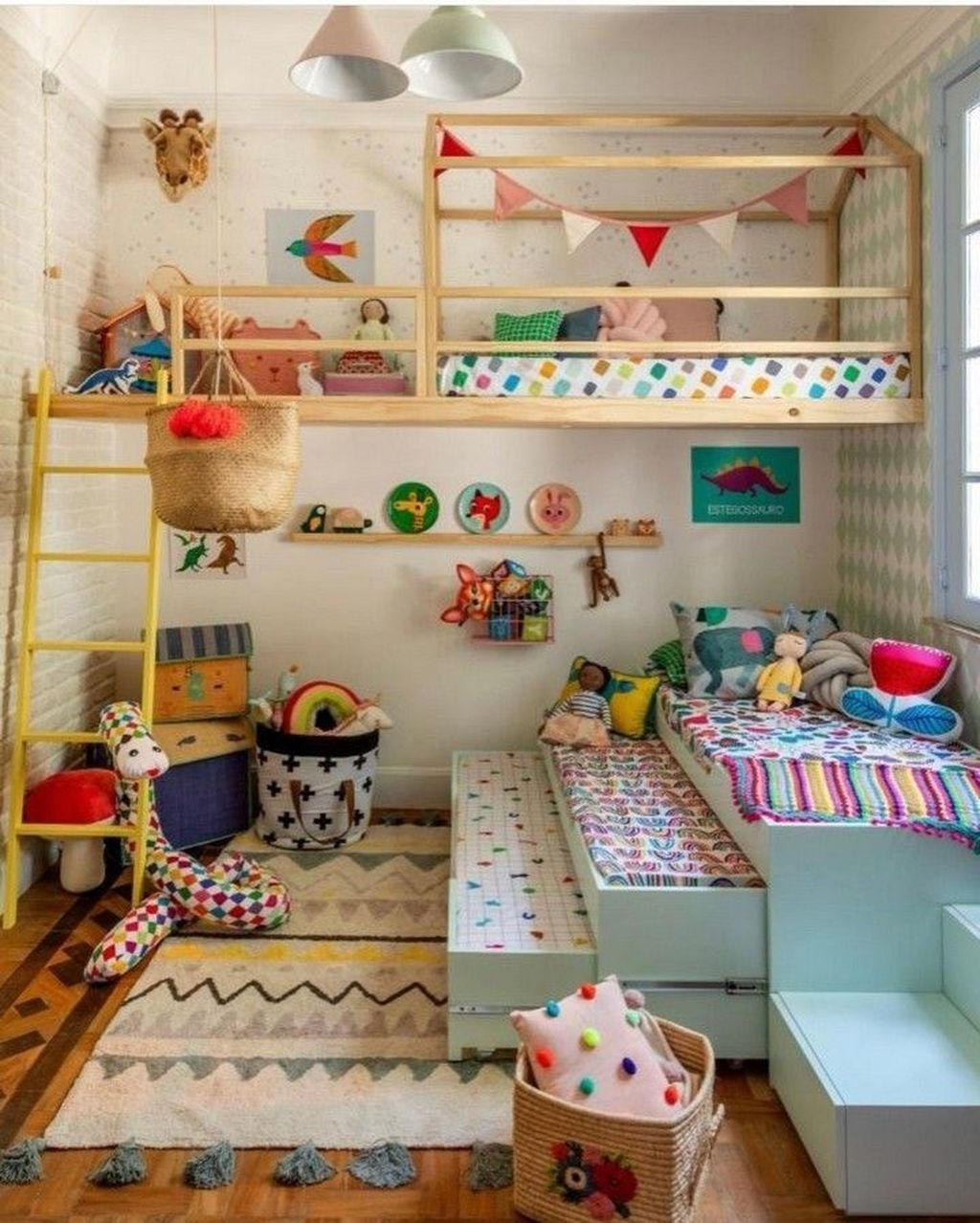 Nice Playroom Design Ideas For Your Kids 11