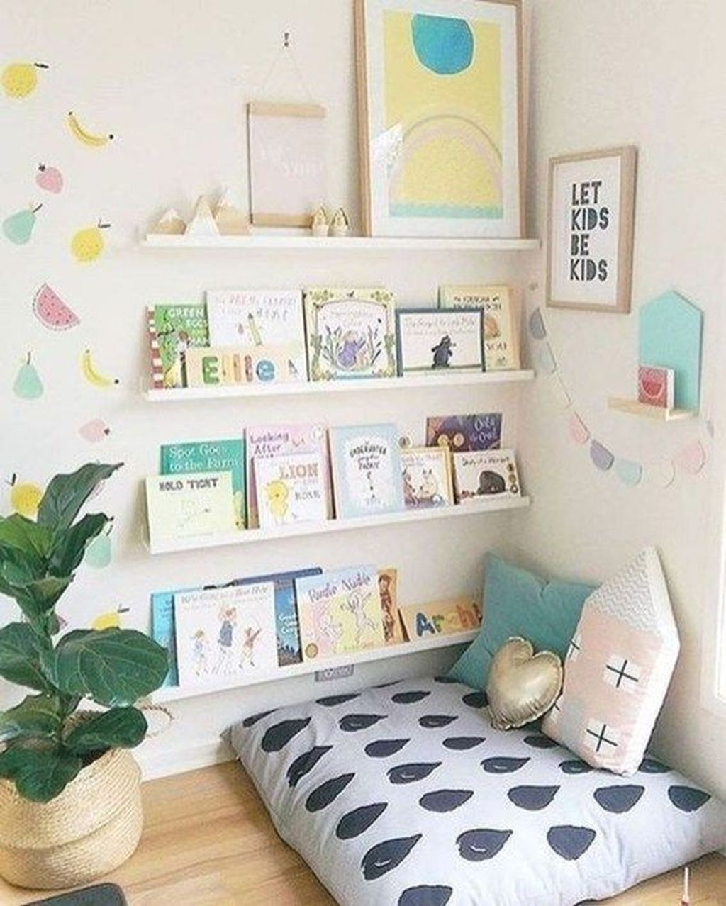 Nice Playroom Design Ideas For Your Kids 18