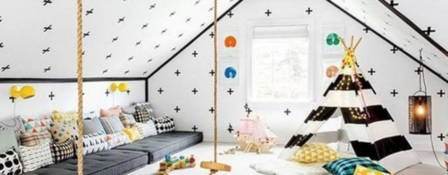 Nice Playroom Design Ideas For Your Kids 33