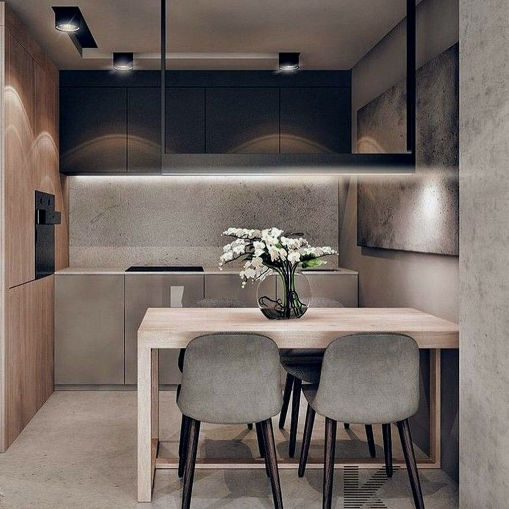 Popular Minimalist Kitchen Design Ideas You Never Seen Before 22