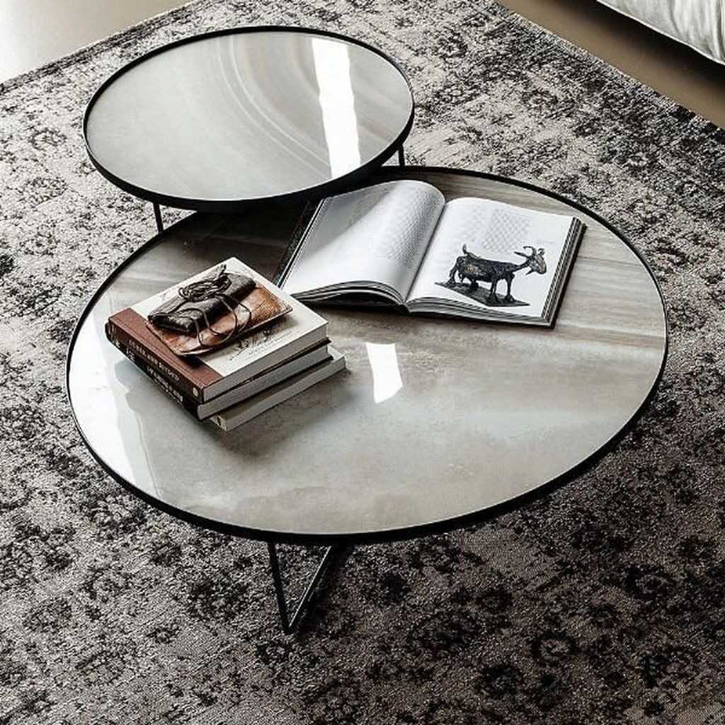 Stunning Coffee Table Design Ideas To Decorate Your Living Room 14