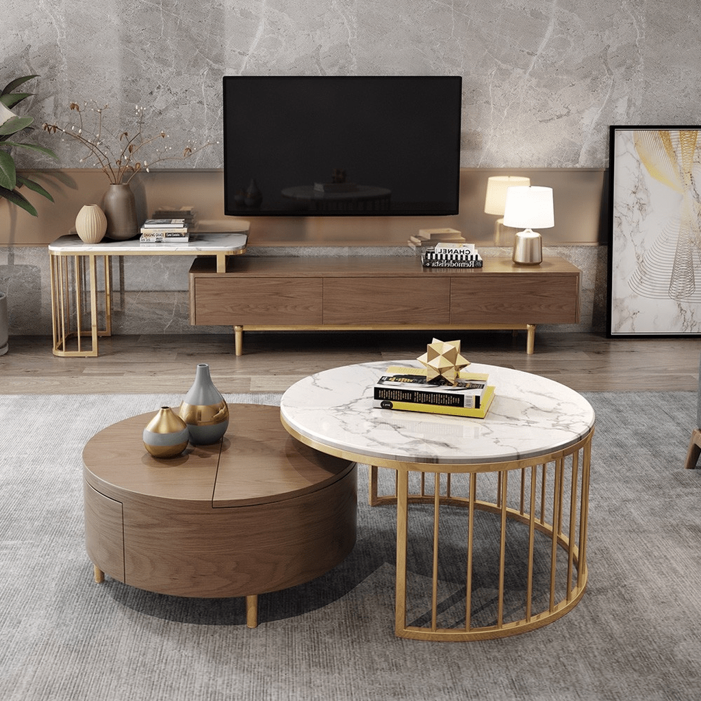 Stunning Coffee Table Design Ideas To Decorate Your Living Room 20