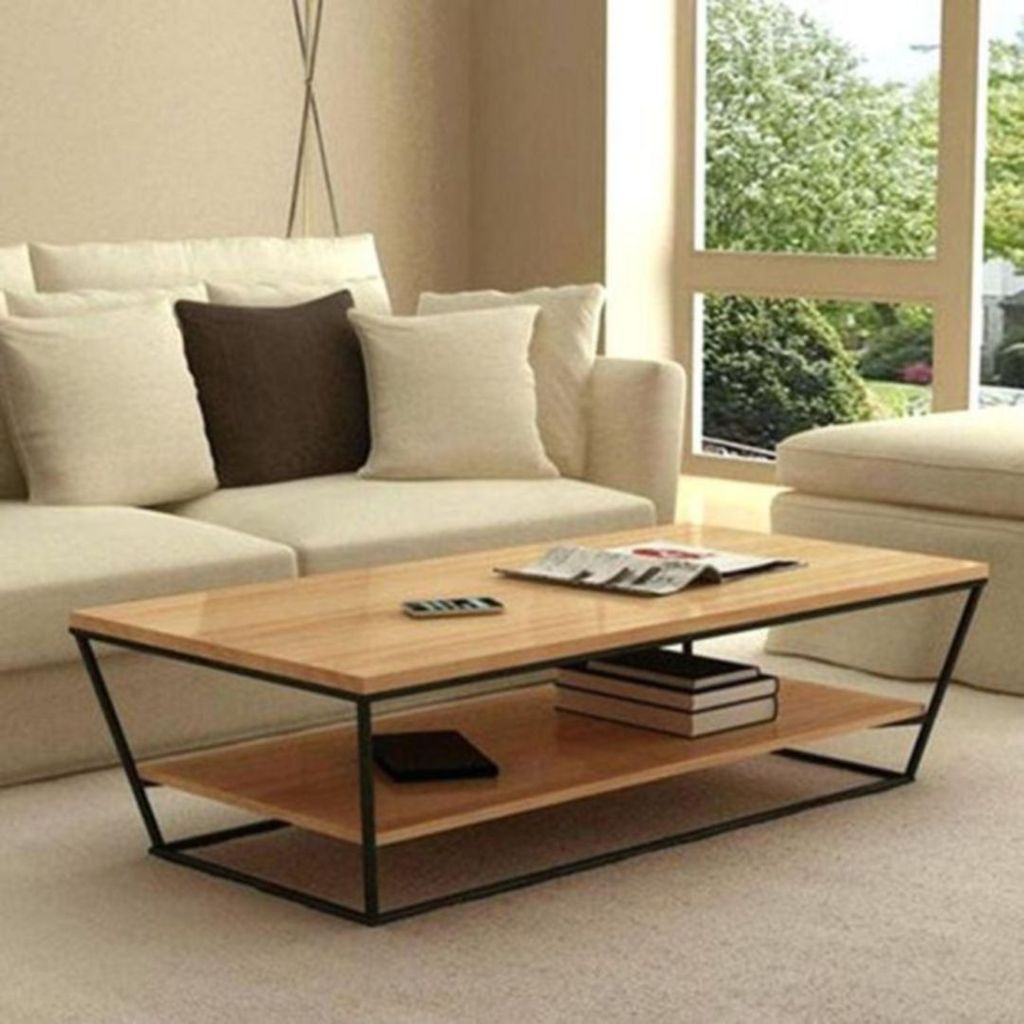Stunning Coffee Table Design Ideas To Decorate Your Living Room 31