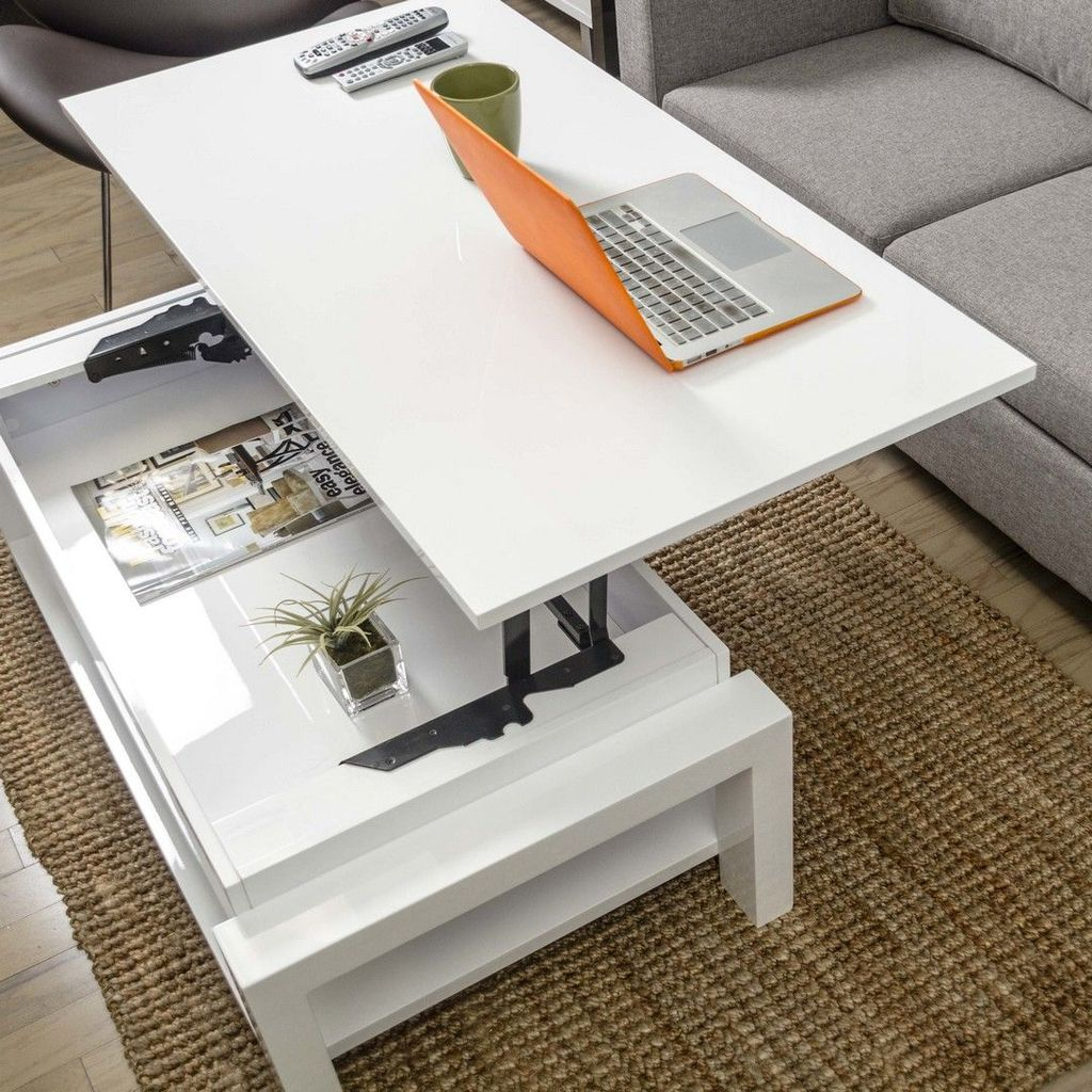 Stunning Coffee Table Design Ideas To Decorate Your Living Room 37