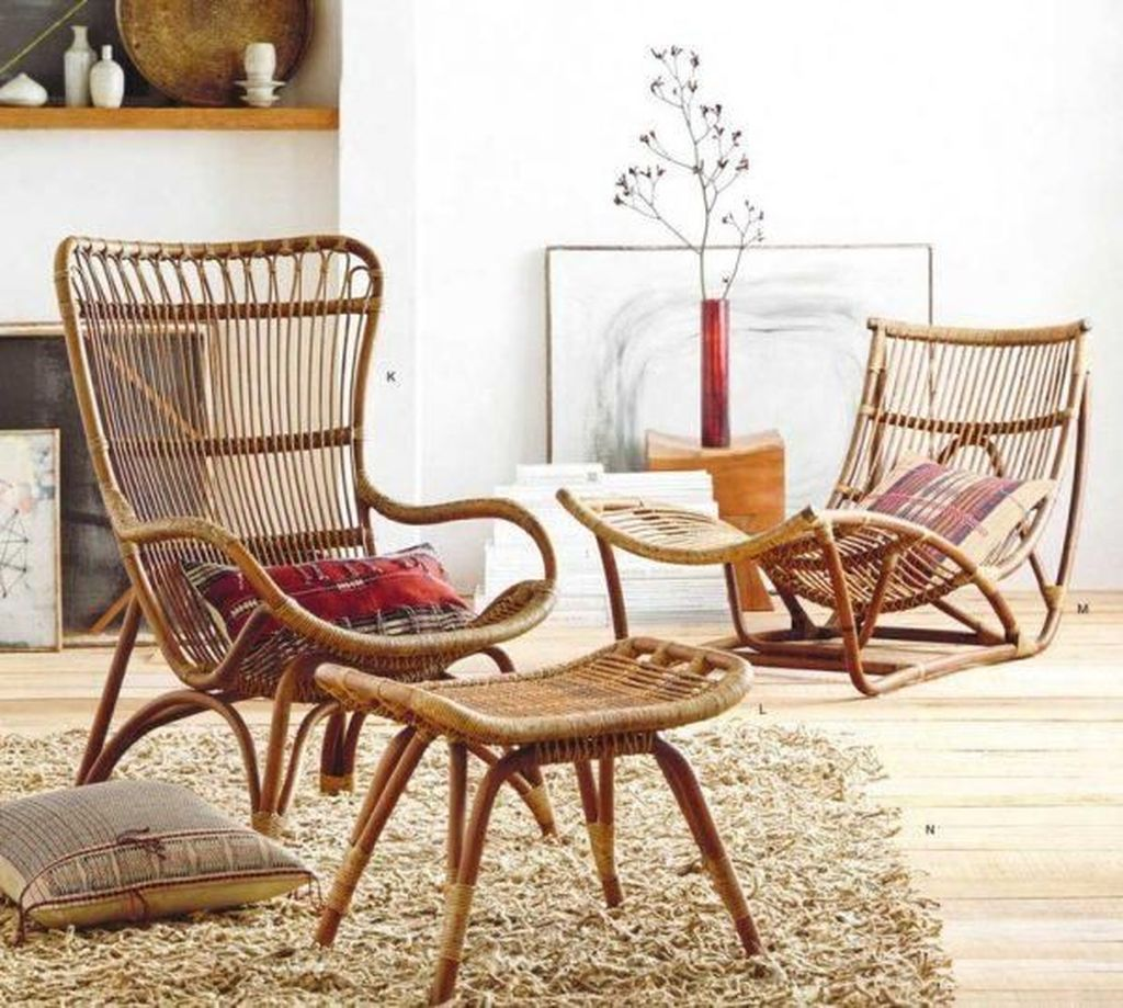 Stunning Rattan Furniture Design Ideas 25
