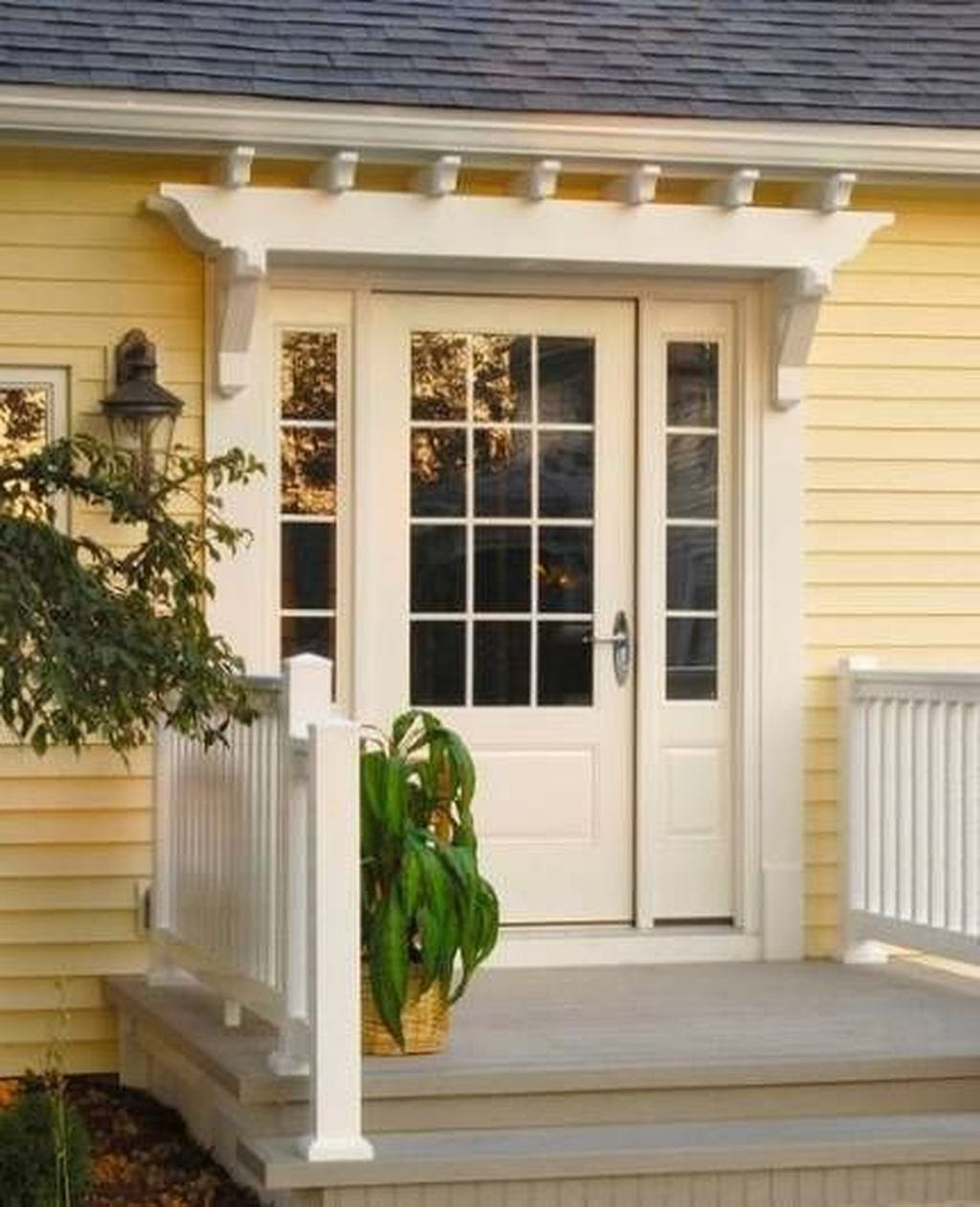 The Best Small Front Porch Ideas To Beautify Your Home 04