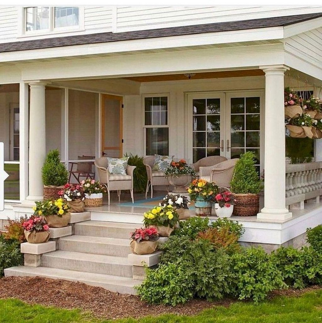 The Best Small Front Porch Ideas To Beautify Your Home 05