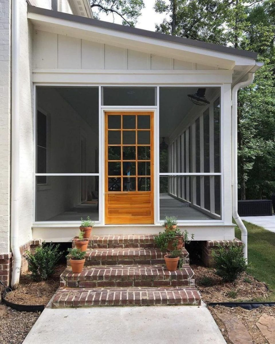The Best Small Front Porch Ideas To Beautify Your Home 09