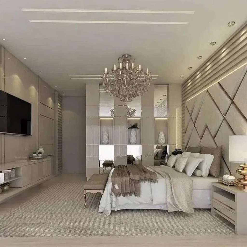 Wonderful Luxury Bedroom Design Ideas You Will Love 01