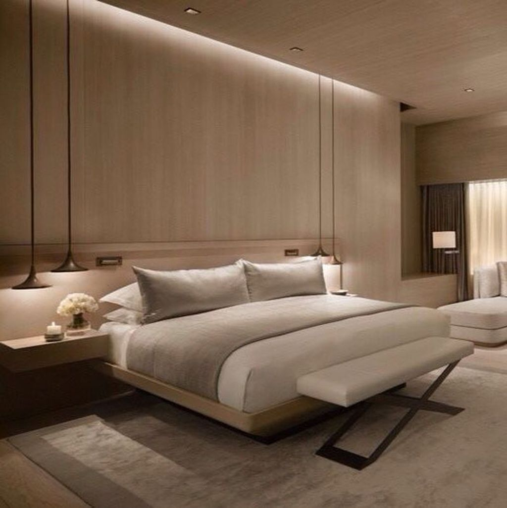Wonderful Luxury Bedroom Design Ideas You Will Love 04