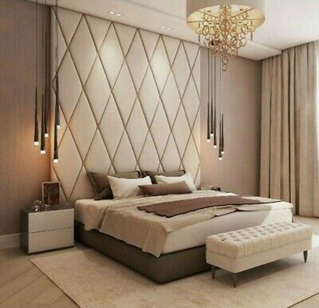 Wonderful Luxury Bedroom Design Ideas You Will Love 05