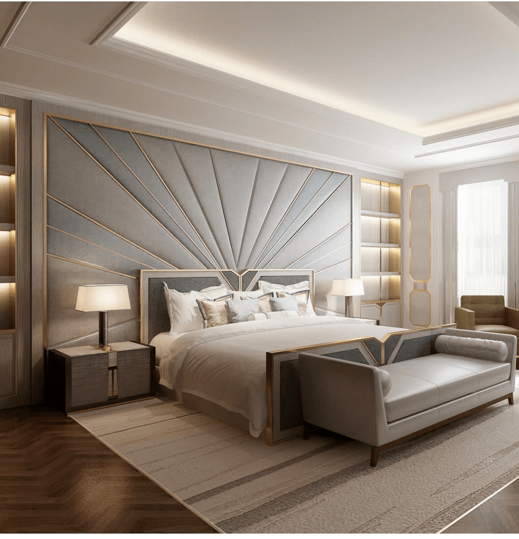 Wonderful Luxury Bedroom Design Ideas You Will Love 16