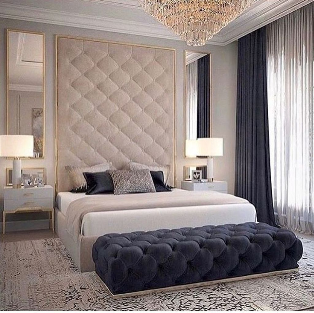 Wonderful Luxury Bedroom Design Ideas You Will Love 19