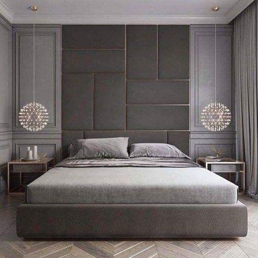 Wonderful Luxury Bedroom Design Ideas You Will Love 23