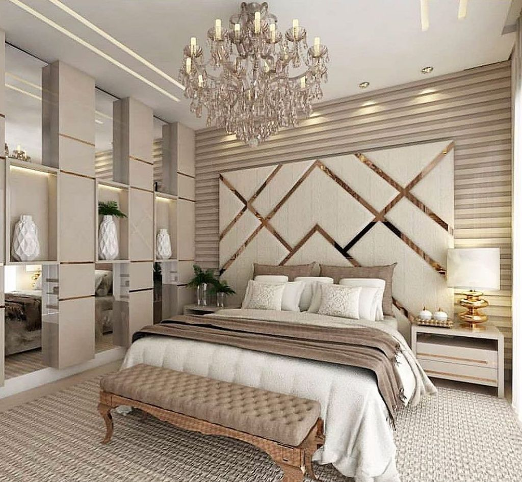 Wonderful Luxury Bedroom Design Ideas You Will Love 26
