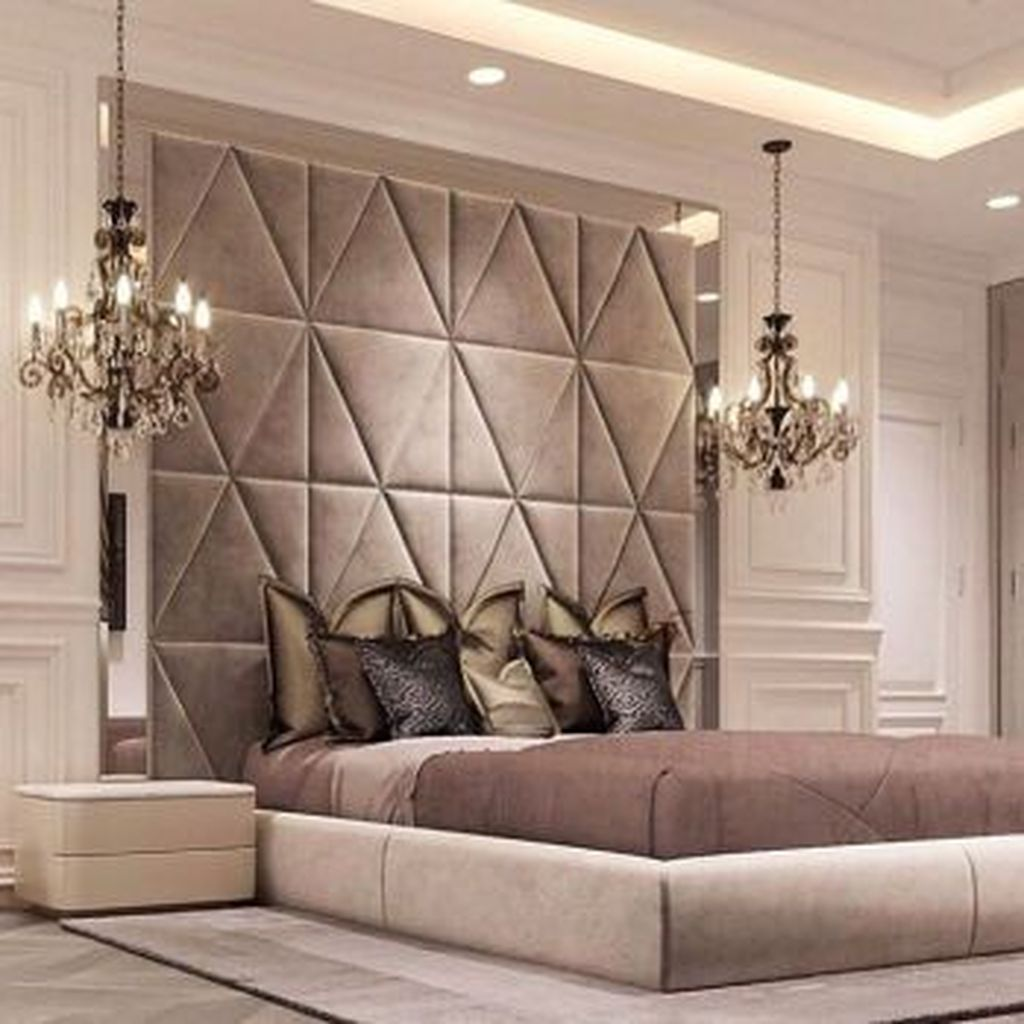 Wonderful Luxury Bedroom Design Ideas You Will Love 33