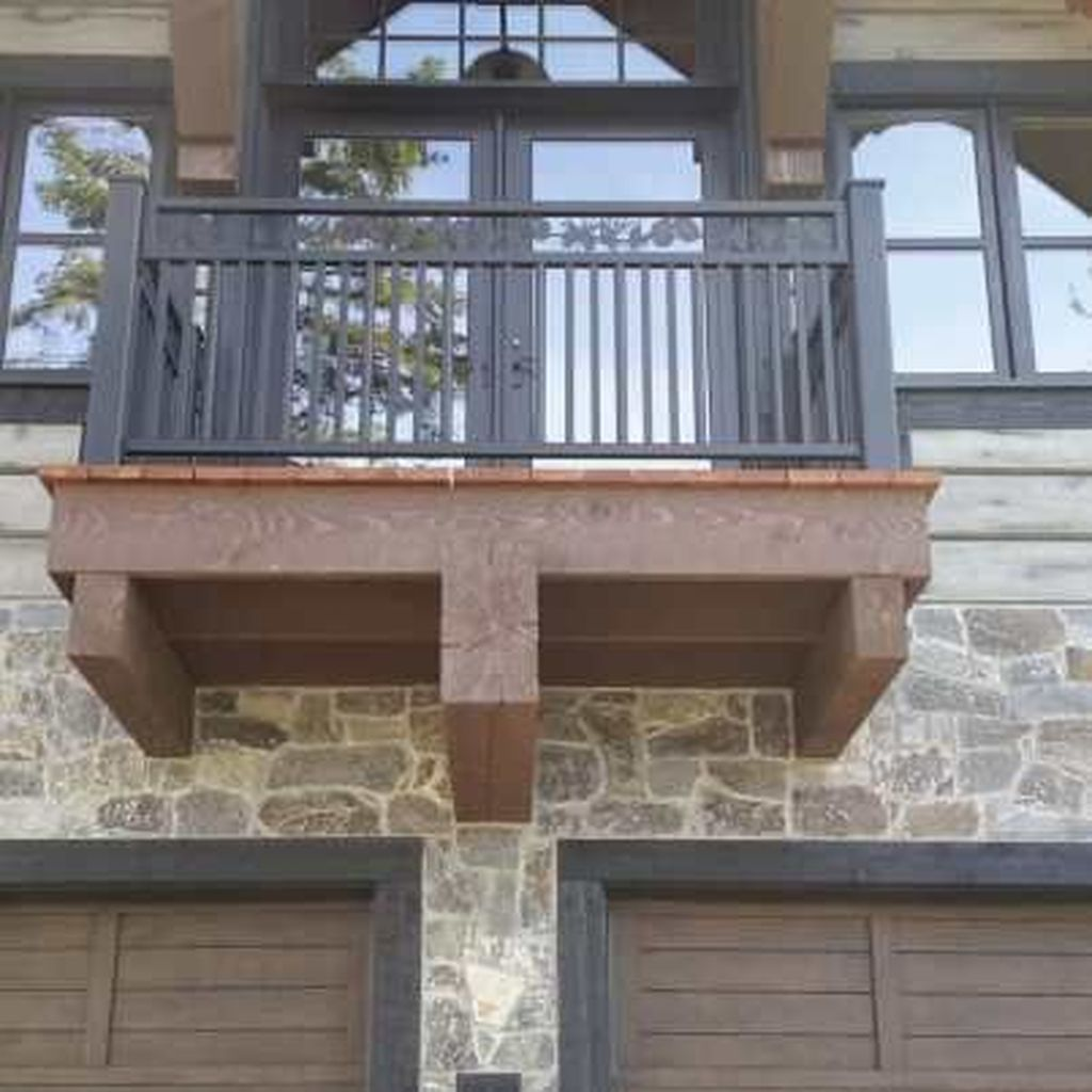 Awesome Balcony Railing Design Ideas To Beautify Your Exterior 10