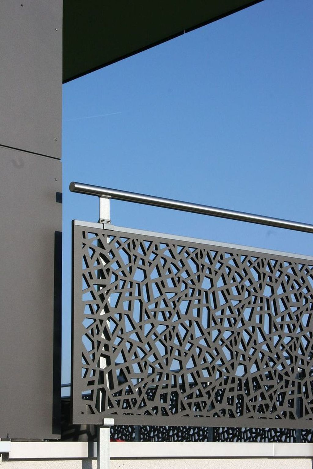 Awesome Balcony Railing Design Ideas To Beautify Your Exterior 24