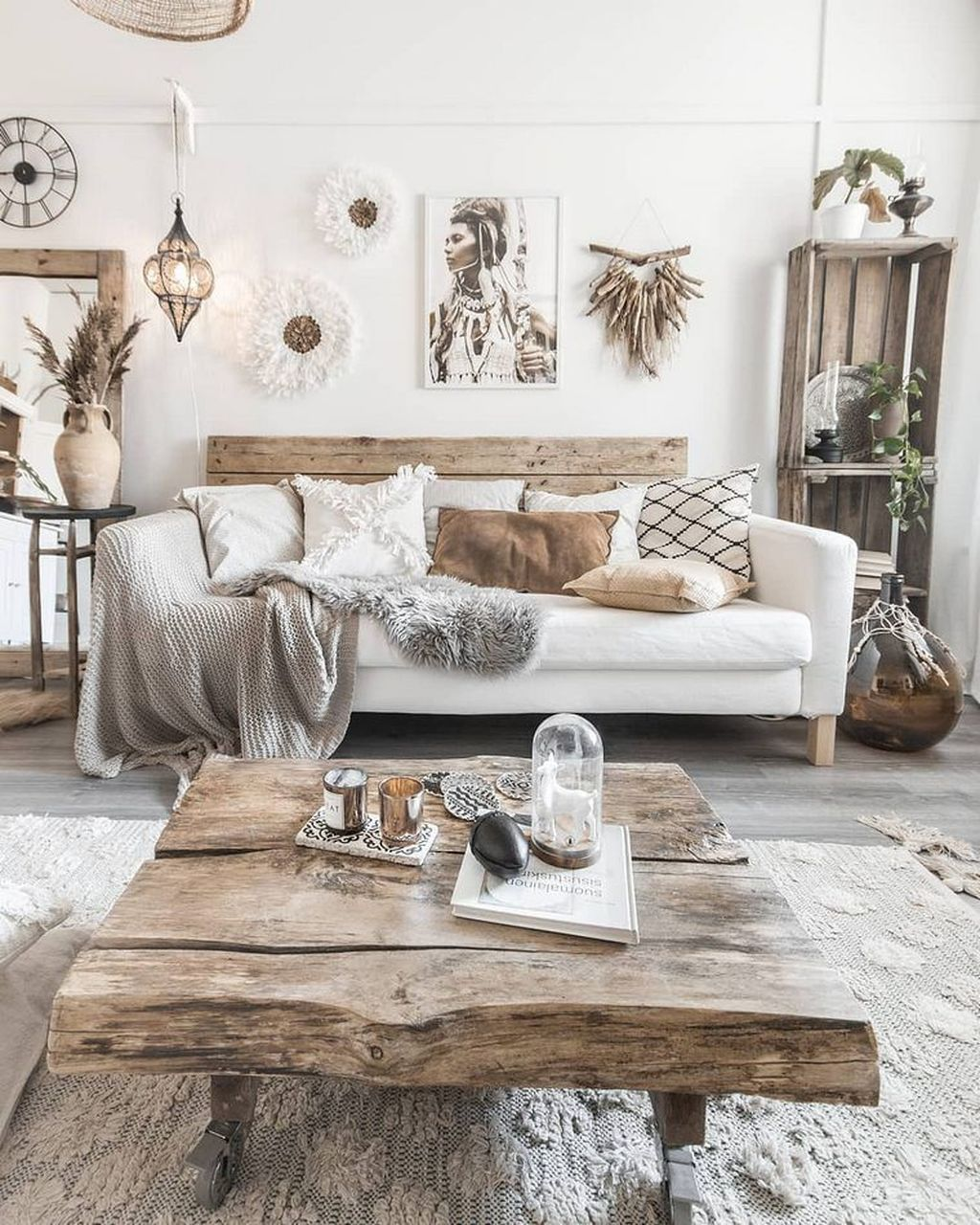 Awesome Rustic Furniture Ideas For Living Room Decor 06