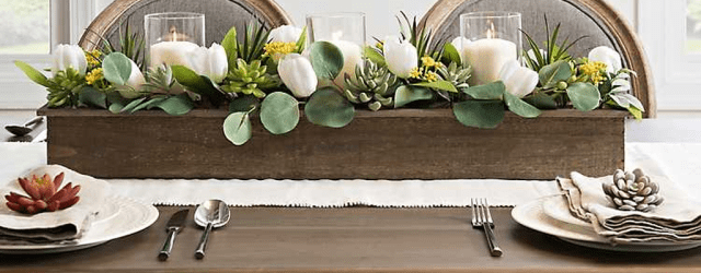 Awesome Spring Table Centerpieces With Farmhouse Style 10