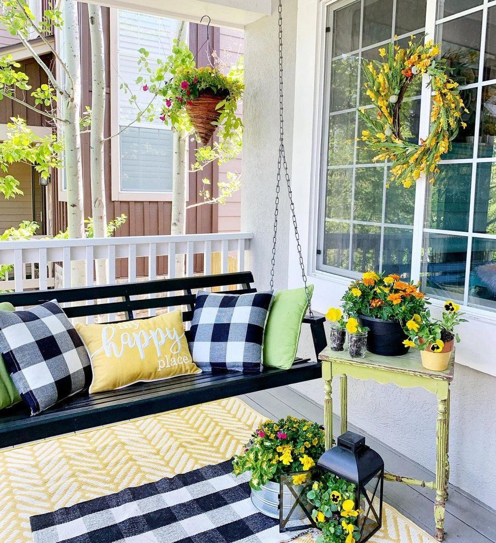 Beautiful Spring Outdoor Decor Ideas 29