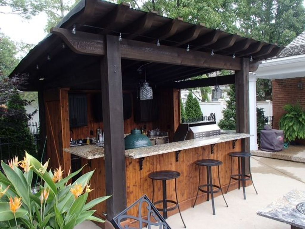 Fabulous Outdoor Kitchen Design Ideas 13